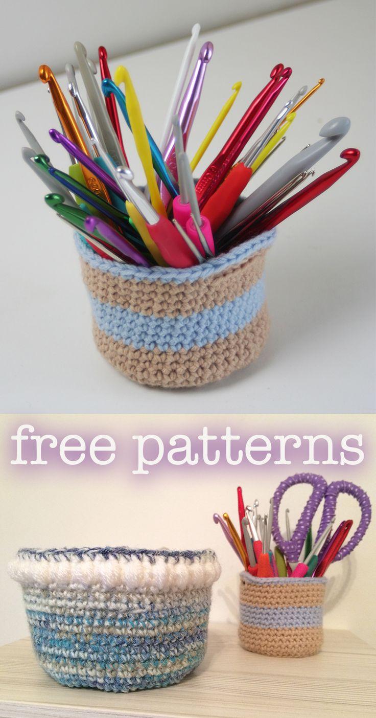 58 besten Crochet Baskets Bilder auf Pinterest | Häkelideen ...
