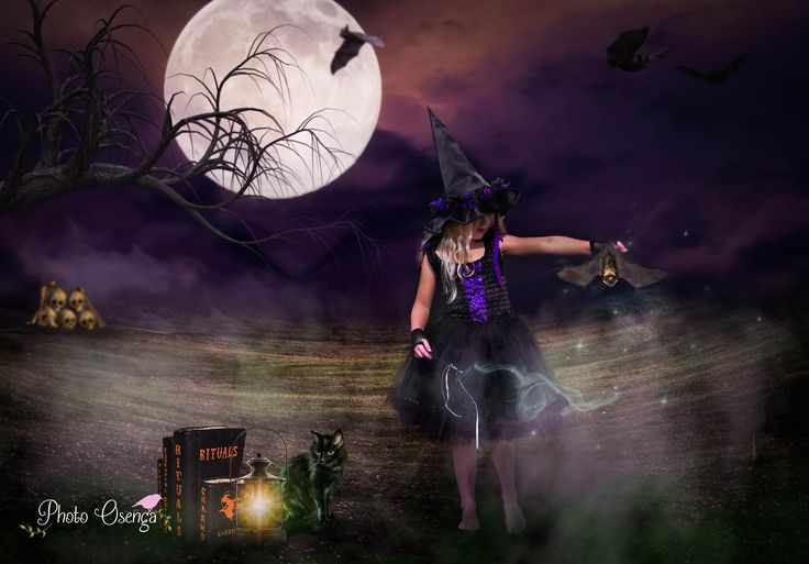 Halloween - witch