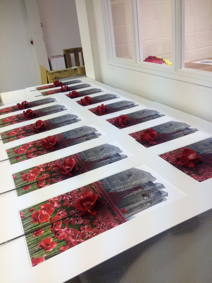 What a great start to the week! Did you know we donate £25 from every ceramic poppy order to the Royal British Legion?