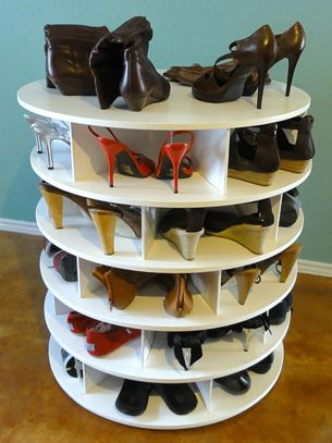 organize shoes