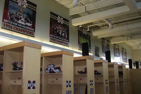 Football Locker Room   Mississippi State University ...   477 x 320 jpeg 61kB