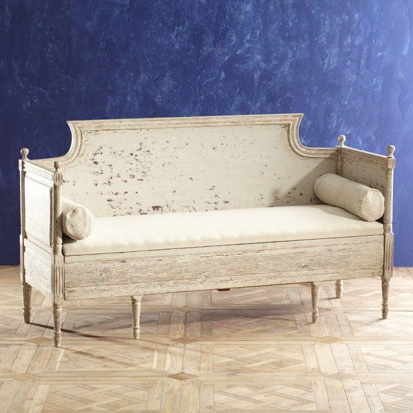Antique Gustavian Sofa | Rare Birds