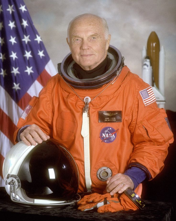 John Glenn, the 1st American to orbit the earth as a member of the original 7 astronauts of NASA and later a U.S. Senator from Ohio, died Dec 8th at the age of 95.