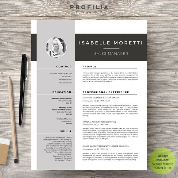 207 best design: lovely resumes images on Pinterest | Cv resume ...