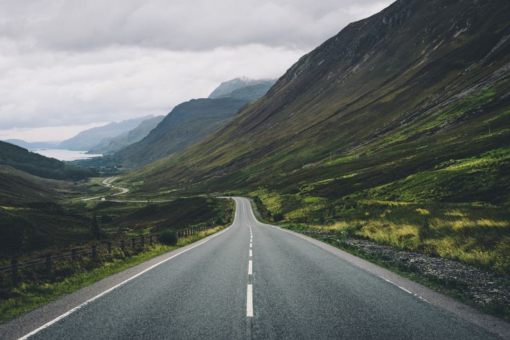 Down the Glen - It's road views like this one that constantly make you want to…