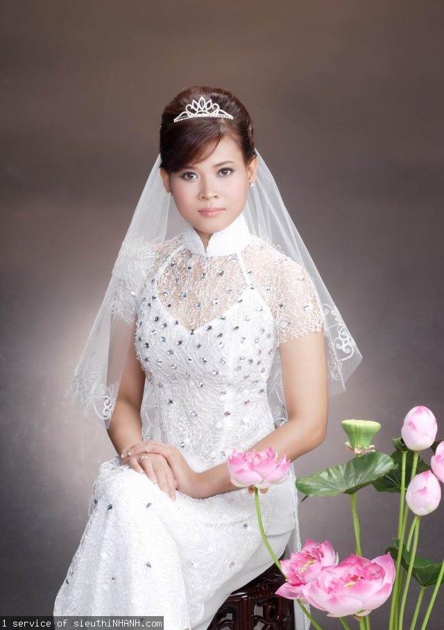 Vietnamese wedding dress (ao dai) Ao Dai VietNam Pinterest