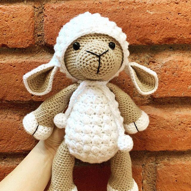 crochet lamb - PATTERN : Sheep - Amigurumi - Sheep - Amigurumi ... | 640x640