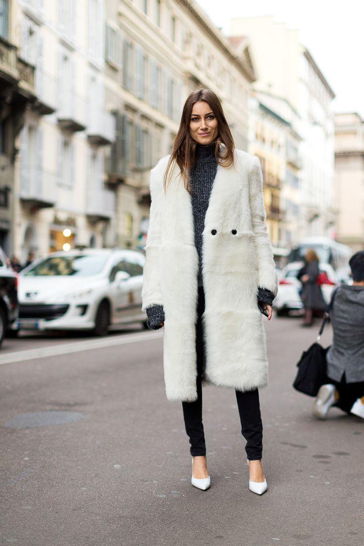 Ciao Milano: Street Style from Italy - Giorgia Tordini - February 2016 #MFW #FW16