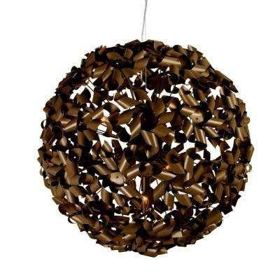 Von The Home Depot · Pinwheel 9 Light Chocolate Bronze Large Pendant