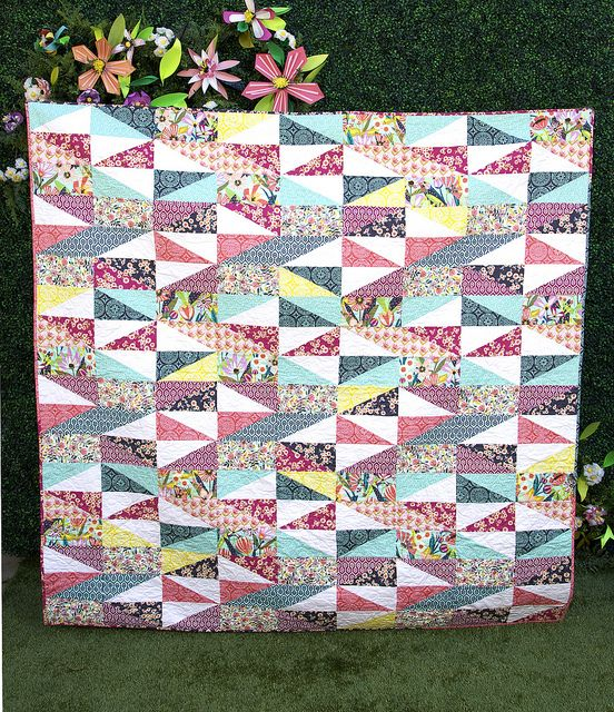 55 best Quilt Half Rectangle images on Pinterest   Quilt patterns ... : square and rectangle quilt patterns - Adamdwight.com