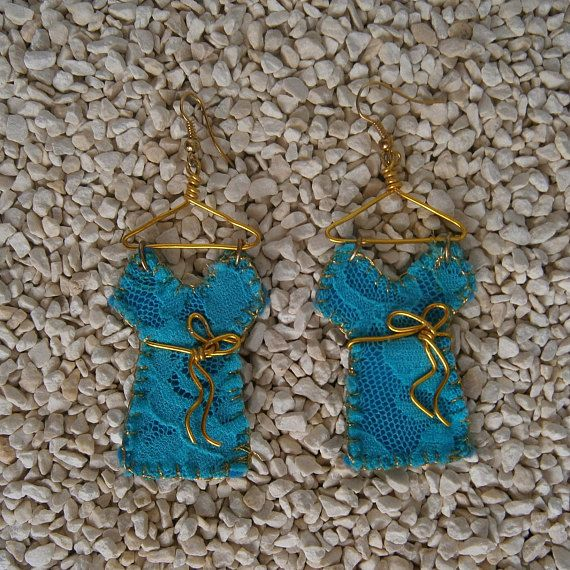 Check out this item in my Etsy shop https://www.etsy.com/listing/506460858/handmade-earrings-felt-lace-dangle