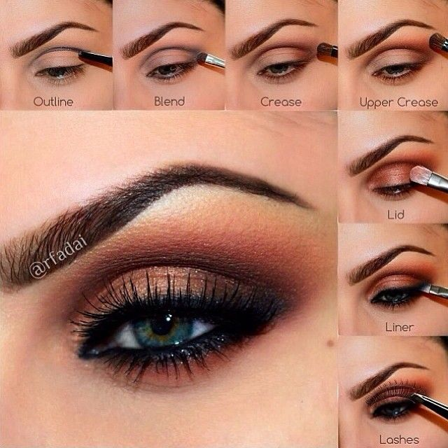 Lavish Eyes Tutorial by @rfadai using my Lavish Palette.  So gorgeous   Begin with a begin with a primed eye. For this look, she used MAC Paint Pot in PAINTERLY ✨Applications Steps️✨ 1⃣OUTLINE the crease area, outer V and lower lash line with Covet Waterproof Eyeliner in LAVISH.  2⃣BLEND out the liner quickly because it's waterproof and when it dries, it won't blend!  3⃣Set the CREASE with SIENNA.  4⃣Add the shade ORANGE SODA to the UPPER CREASE and blend upwards.  5⃣Add RUM CAKE to the…