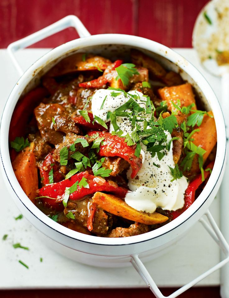 Add a kick to Bonfire Night with our spicy jerk pork and sweet potato casserole