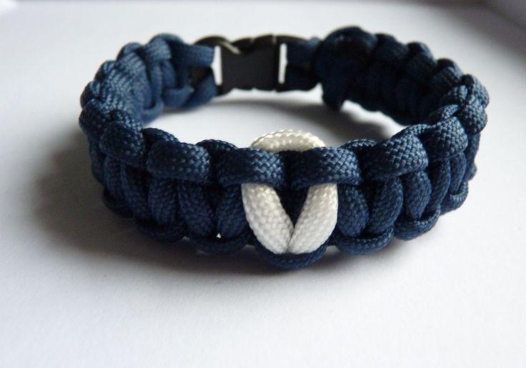 """Superbe BRACELET DE SURVIE PARACORD """"LE MARIN"""" : Bracelet par atelier-galia-and-co                                                                                                                                                                                 Plus"""