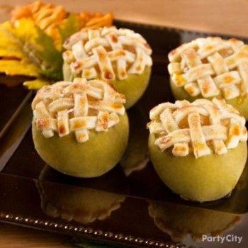 Thanksgiving Appetizer and Dessert Ideas