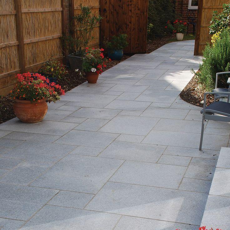 Granite Paving Silver Grey