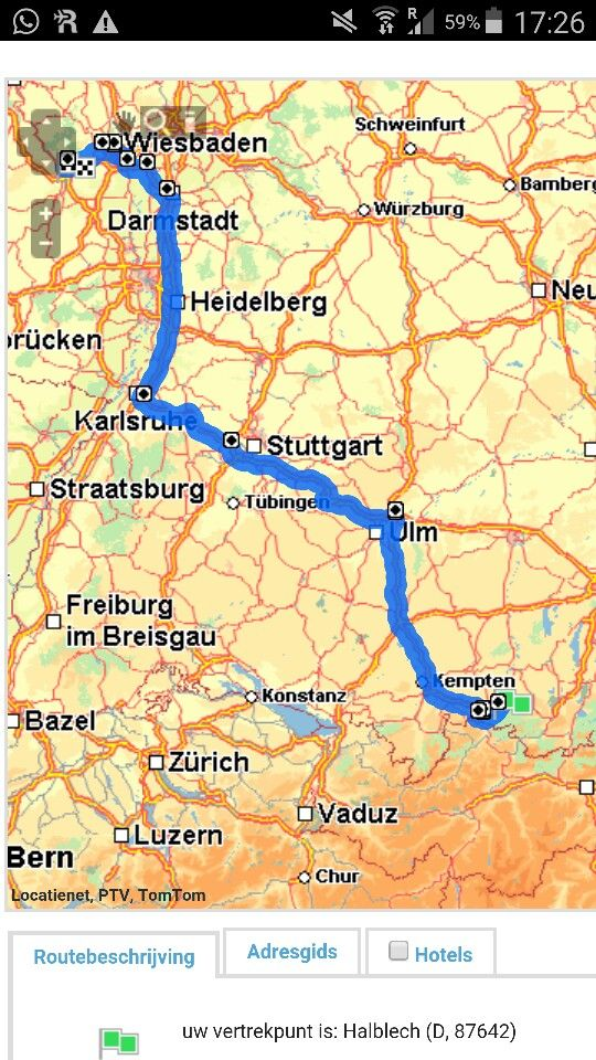 Kempten und Fussen, in diesen Kreis ligt Neu Schwanstein castle.