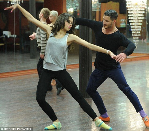 Dance practice: Zendaya and Val, shown in March during DWTS rehearsals, finished second in the dancing competition show