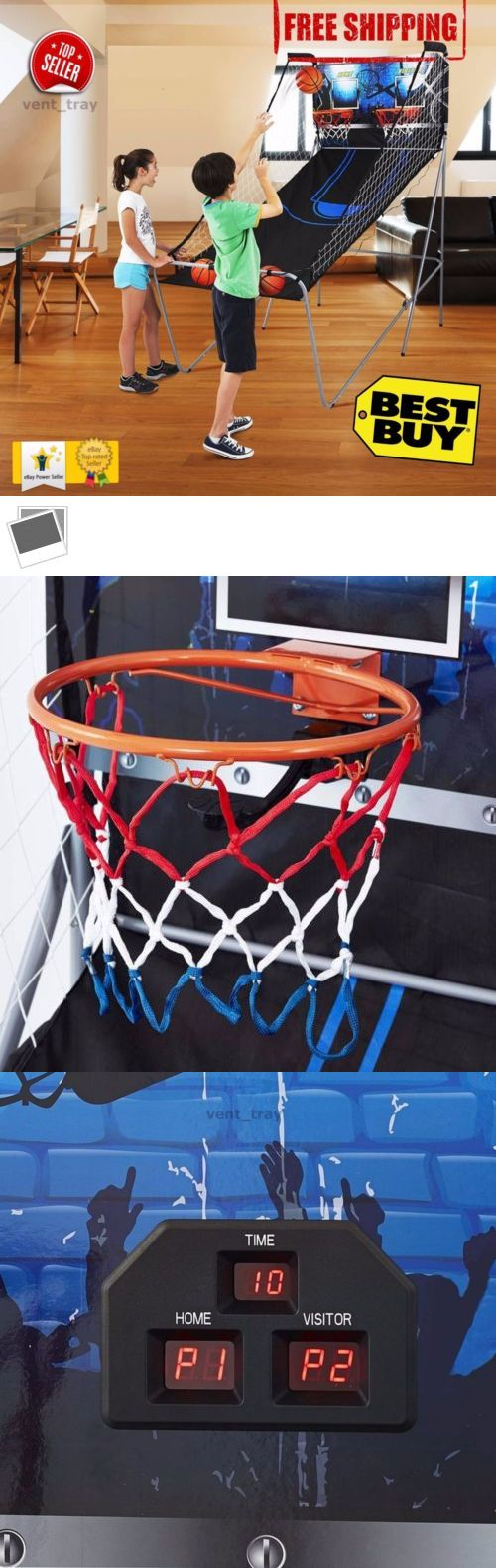 Other Basketball 2023: Md 2 Player Basketball Game With Authentic Clear Backboard Durable Rim 3 Balls BUY IT NOW ONLY: $79.89