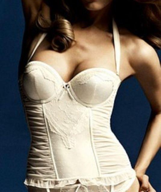 Triumph Precious Essence  Korsage Weiß  85 A Damen  Multifunktional