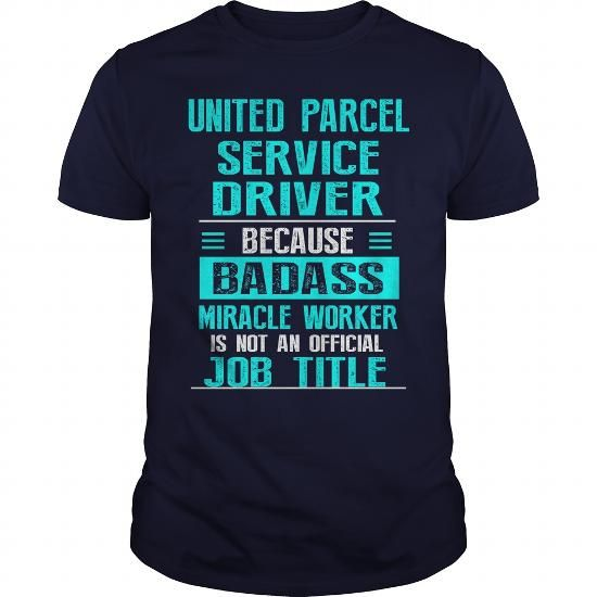 UPS DRIVER UNITED PARCEL SERVICE DRIVER T Shirts, Hoodies. Get it here ==► https://www.sunfrog.com/LifeStyle/UPS-DRIVER-UNITED-PARCEL-SERVICE-DRIVER-Navy-Blue-Guys.html?57074 $22