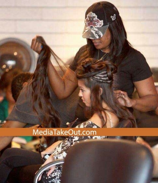 Can't achieve it, weave it.: Human Hair Extensions, Wear Exten, Kourtney Kardashian, Sewn In Hair Extensions, Kim Kardashian Hair Extensions, Wear Weaving, Exten Hair, Kourtneykardashian, Exten 10 1