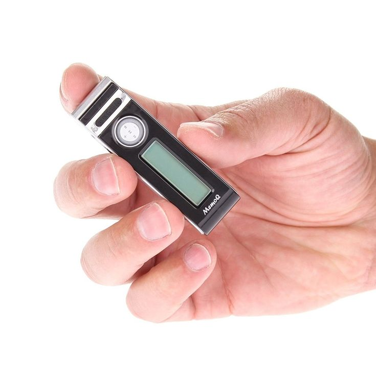 MemoQ Voice Activated Recorder Buy Online – SpyGarage.com
