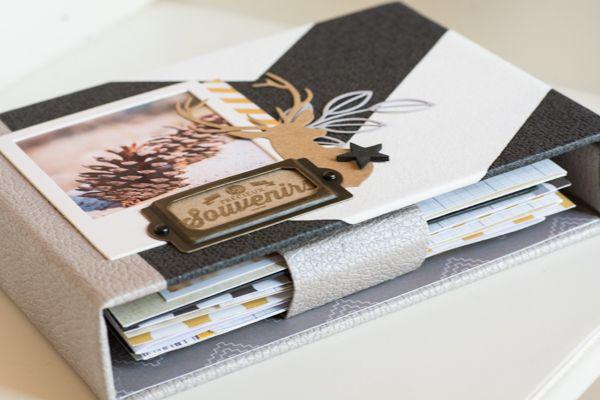 Bonjour ! Aujourd'hui un mini taupe, gris, jaune et noir, très graphique, pour célébrer l'arrivée de l'automne ou encore mettre en valeur vos plus belles photos masculines ! L'album est à retrouver en boutique ICI... On ne le voit pas sur les visuels...