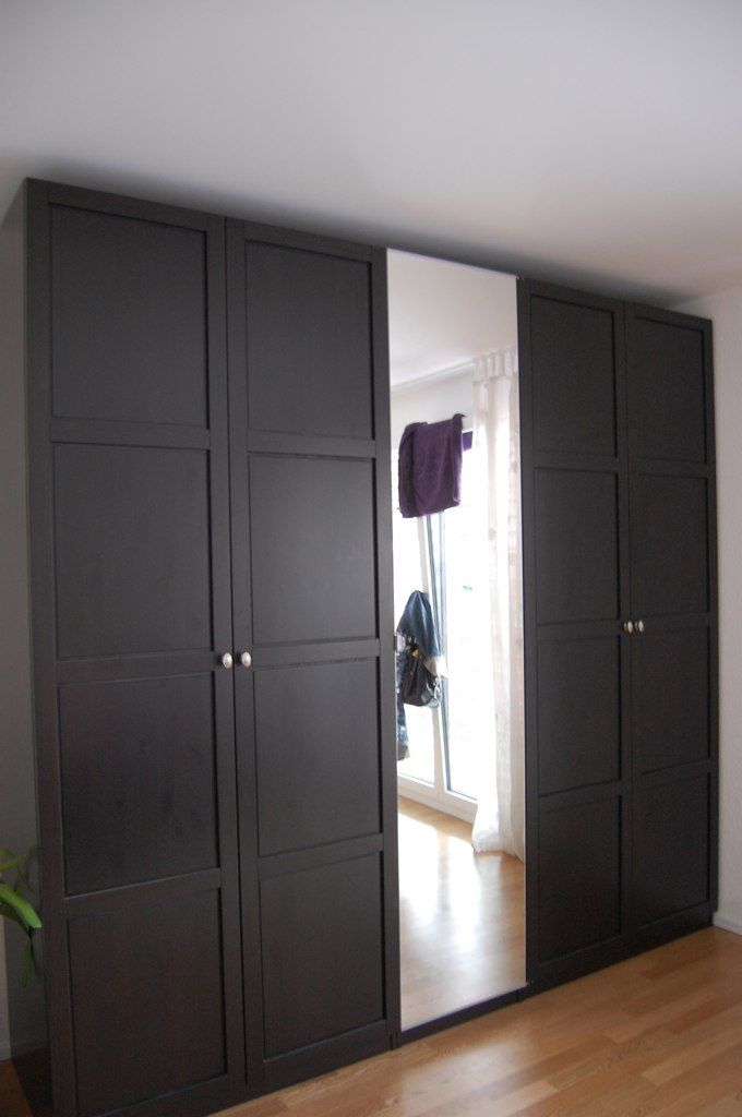 ikea pax hemnes wardrobes schlafzimmer. Black Bedroom Furniture Sets. Home Design Ideas