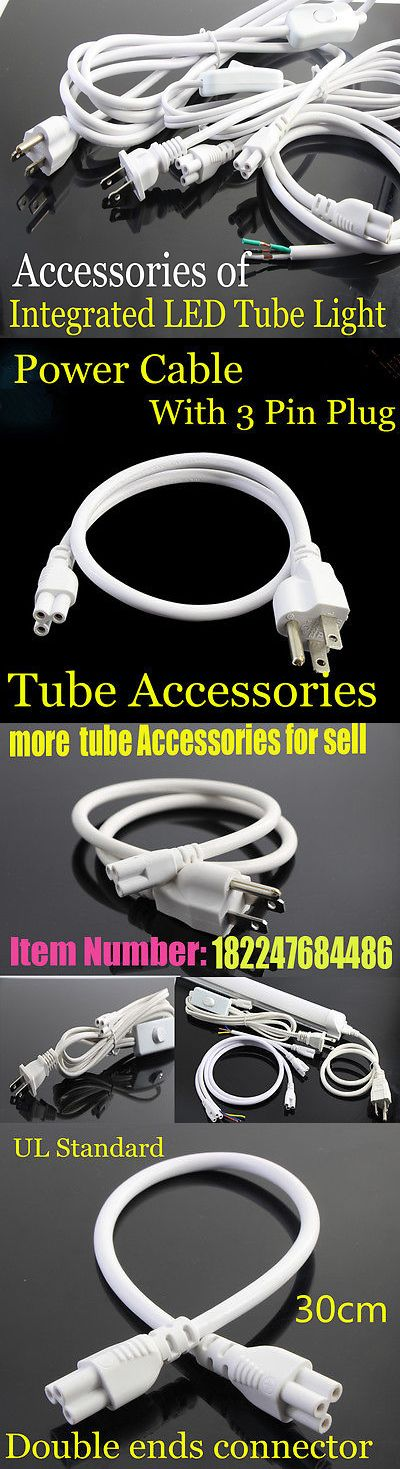 Lighting Parts and Accessories 20705: T8 Tube Connector Flexible Cable Wire Extension Cord For Integrated Led Tube -> BUY IT NOW ONLY: $64.99 on eBay!