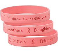 Band of Support Pink Ribbon Bracelet at The Breast Cancer Site