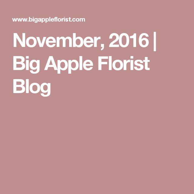 November, 2016 | Big Apple Florist Blog