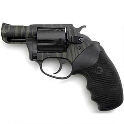 """Charter Arms Tiger II Undercover Revolver .38 Special 2"""" Barrel Black Synthetic Grips Green/Black 13825 - 678958138252"""