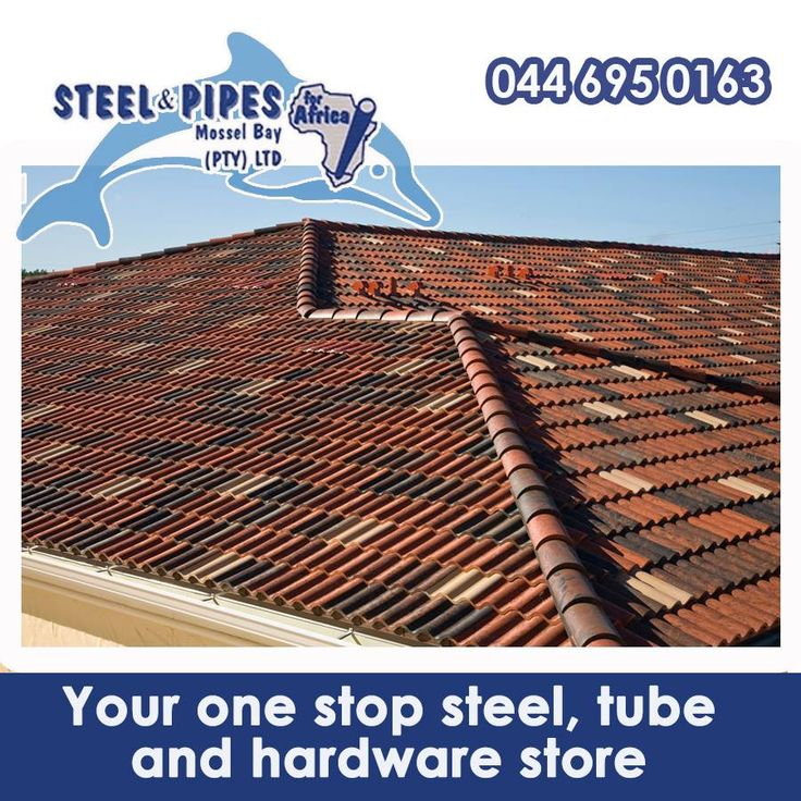 Remember that for your convenience, Steel & Pipes, Mossel Bay , also stock all your roofing products. Visit us and one of our friendly team members will assist you! #lifestyle #roofing #construction