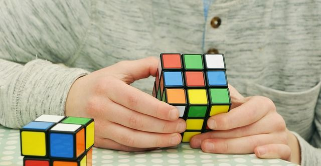 You can be sure, that our puzzles are easier than Rubik's cubes :) Wir laden to our escape room in Wien. http://www.openthedoor.at  #escape #room #game #Wien #Vienna