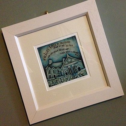 Calon Lân Print ~ Framed
