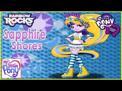MLPEG - Sapphire Shores Dress Up Game - MLP-EG
