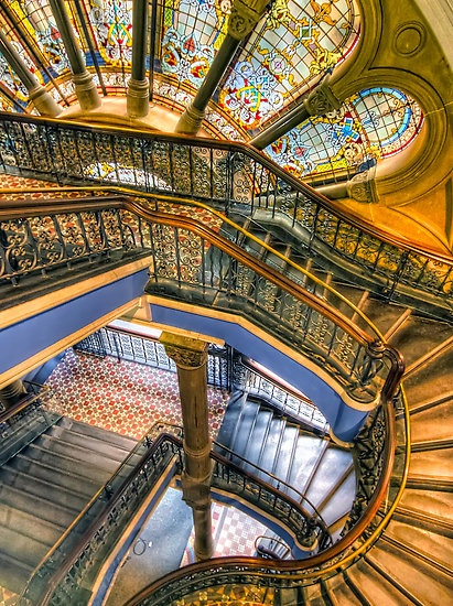 Queen Victoria Building, Sydney, Australia. Photo by Richard Cubitt.
