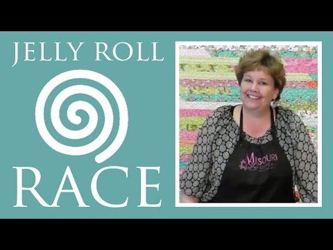 Jelly Roll Race! A Quilt Top in Less Than an Hour! | Always Great, Always Free Quilting Tutorials
