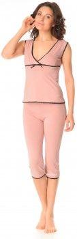 Майка + бриджи BARWA garments 0110/92 S Фрезовые (2111100921077)