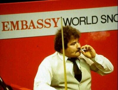 Bill Werbeniuk..... why don't snooker players look like this anymore?