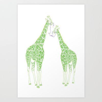 Tall Big Love Art Print Promoters - $18.00