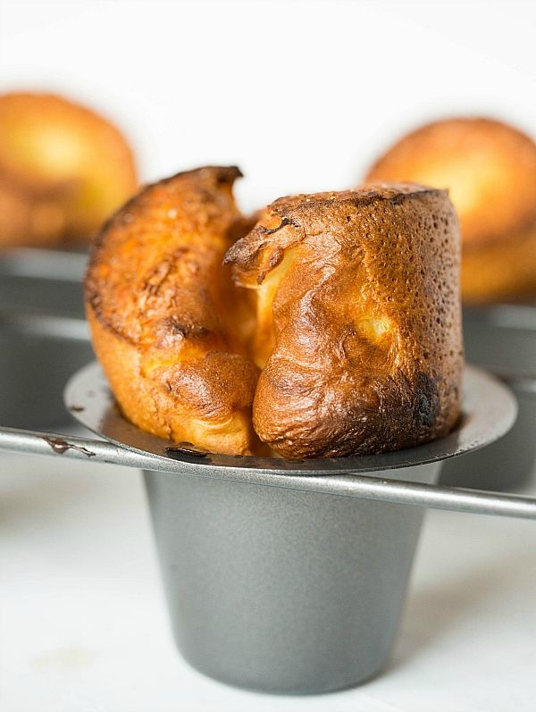 S'mores Popovers Recipe — Dishmaps