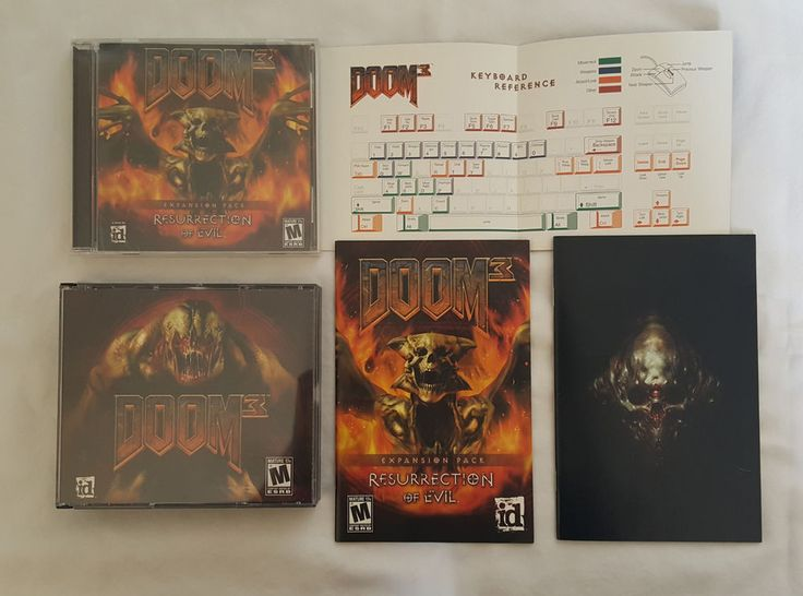 Doom 3 PC Game, Plus Resurrection Of Evil Expansion Pack