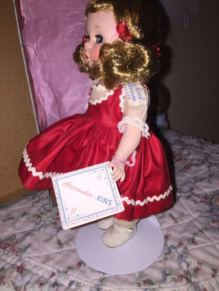 """Beautiful 1953 Strung 8"""" Alexanderkins Doll From Madame Alexander    Dolls & Bears, Dolls, By Brand, Company, Character   eBay!"""