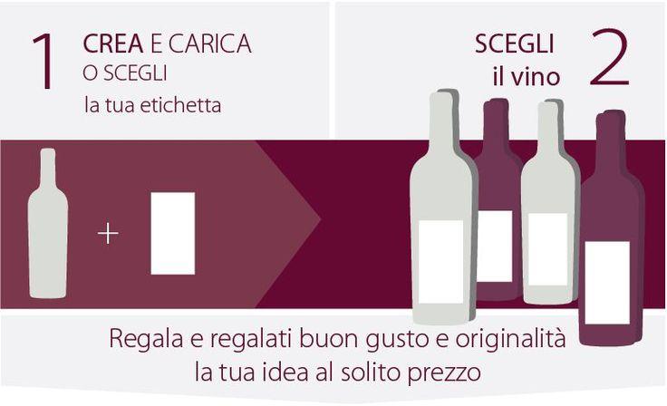 Fai un regalo speciale e regala un vino personalizzato
