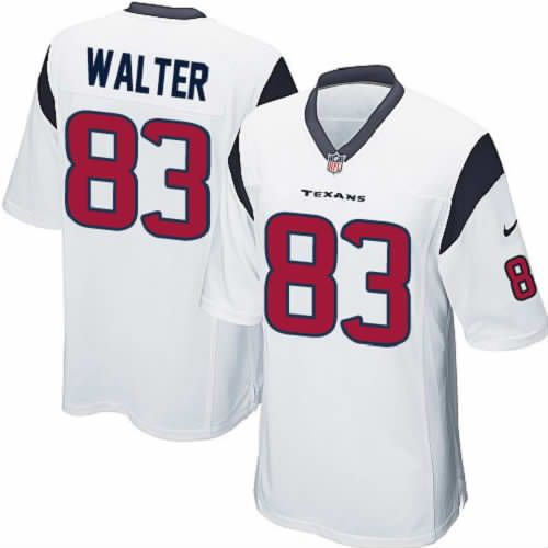 Kevin Walter Jersey Houston Texans #83 Youth White Limited Jersey Nike NFL Jersey Sale