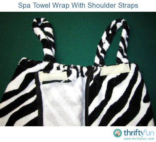 how to make a towel wrap without sewing
