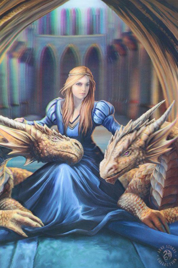 3d Bild Mit Drachen Fierce Loyalty Anne Stokes Bilder Drachen