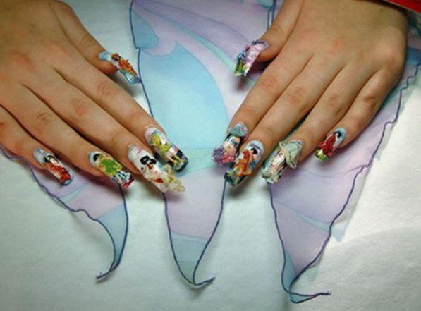 list of 15 bizarre,strange nail polish designs - 28 Best Exotic Nail Art Images On Pinterest Nail Nail, Nail